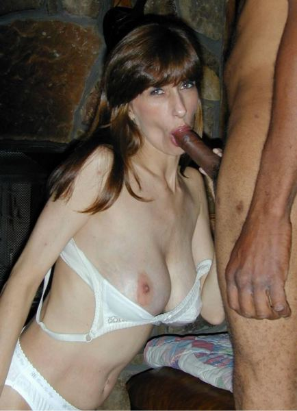 Amateur Wives Loving Interracial Sex.